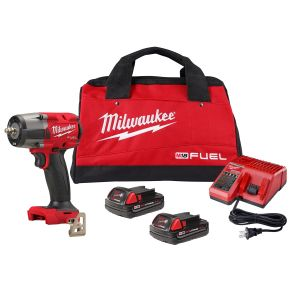 M18 FUEL 3/8 Mid-Torque Impact Wrench w/ Friction Ring CP2.0 Kit