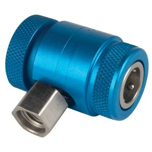 Blue Low-Side Service Coupler For AC1234-6